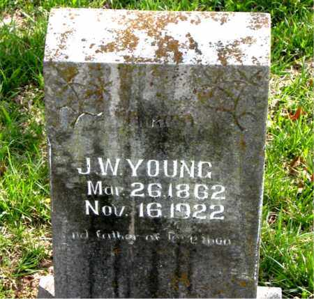 YOUNG, JAMES WESLEY - Boone County, Arkansas | JAMES WESLEY YOUNG - Arkansas Gravestone Photos