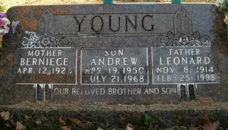 YOUNG, ANDREW - Boone County, Arkansas | ANDREW YOUNG - Arkansas Gravestone Photos