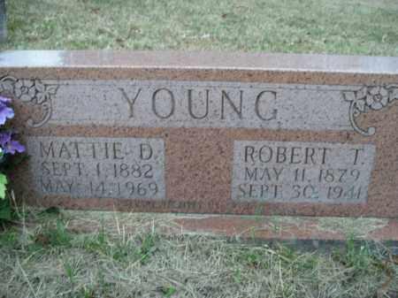YOUNG, ROBERT T. - Boone County, Arkansas | ROBERT T. YOUNG - Arkansas Gravestone Photos