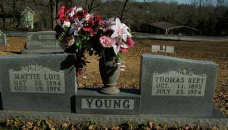 YOUNG, MATTIE LOIS - Boone County, Arkansas | MATTIE LOIS YOUNG - Arkansas Gravestone Photos