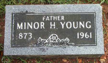 YOUNG, MINOR H. - Boone County, Arkansas | MINOR H. YOUNG - Arkansas Gravestone Photos