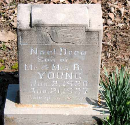 YOUNG, NOEL DREW - Boone County, Arkansas | NOEL DREW YOUNG - Arkansas Gravestone Photos