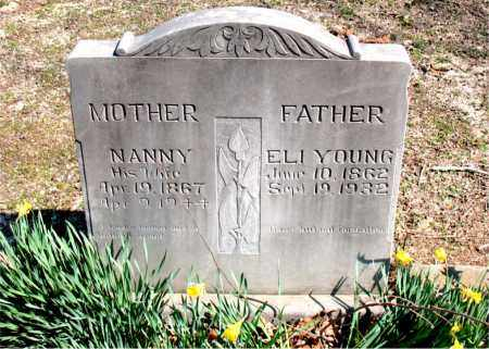 YOUNG, NANNY - Boone County, Arkansas | NANNY YOUNG - Arkansas Gravestone Photos