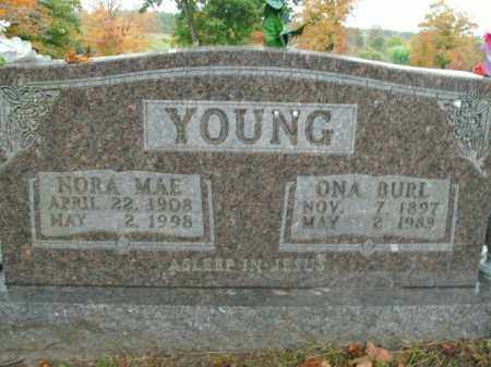 YOUNG, ONA BURL - Boone County, Arkansas | ONA BURL YOUNG - Arkansas Gravestone Photos