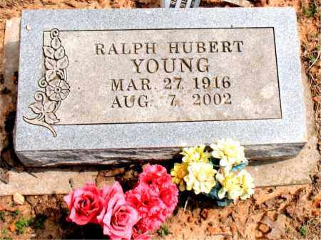 YOUNG, RALPH HUBERT - Boone County, Arkansas | RALPH HUBERT YOUNG - Arkansas Gravestone Photos