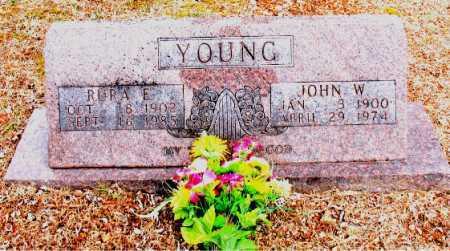 YOUNG, JOHN  W. - Boone County, Arkansas | JOHN  W. YOUNG - Arkansas Gravestone Photos