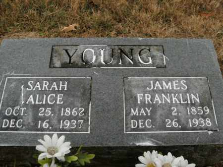 YOUNG, JAMES FRANKLIN - Boone County, Arkansas | JAMES FRANKLIN YOUNG - Arkansas Gravestone Photos