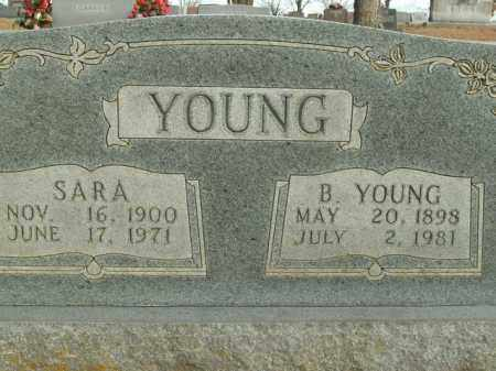 YOUNG, B. - Boone County, Arkansas | B. YOUNG - Arkansas Gravestone Photos
