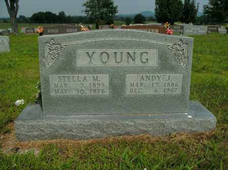 YOUNG, ANDY J. - Boone County, Arkansas | ANDY J. YOUNG - Arkansas Gravestone Photos