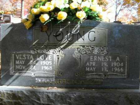 YOUNG, VESTA LOVE - Boone County, Arkansas | VESTA LOVE YOUNG - Arkansas Gravestone Photos