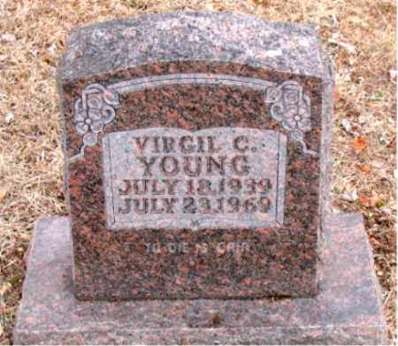 YOUNG, VIRGIL C. - Boone County, Arkansas | VIRGIL C. YOUNG - Arkansas Gravestone Photos