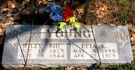 YOUNG, ETTA K. - Boone County, Arkansas | ETTA K. YOUNG - Arkansas Gravestone Photos