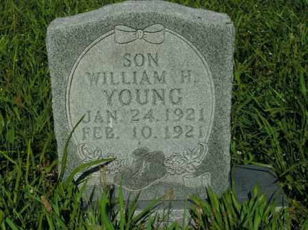 YOUNG, WILLIAM H. - Boone County, Arkansas | WILLIAM H. YOUNG - Arkansas Gravestone Photos