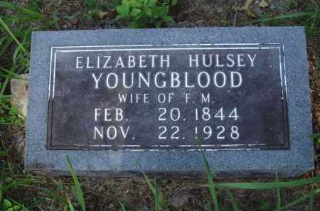 HULSEY YOUNGBLOOD, ELIZABETH - Boone County, Arkansas | ELIZABETH HULSEY YOUNGBLOOD - Arkansas Gravestone Photos