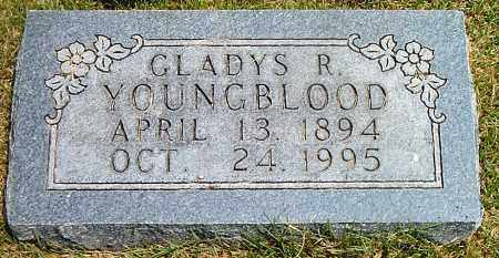 YOUNGBLOOD, GLADYS R. - Boone County, Arkansas | GLADYS R. YOUNGBLOOD - Arkansas Gravestone Photos