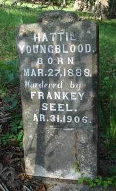 YOUNGBLOOD, HATTIE - Boone County, Arkansas | HATTIE YOUNGBLOOD - Arkansas Gravestone Photos