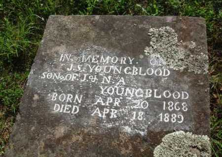 YOUNGBLOOD, J. S. - Boone County, Arkansas | J. S. YOUNGBLOOD - Arkansas Gravestone Photos