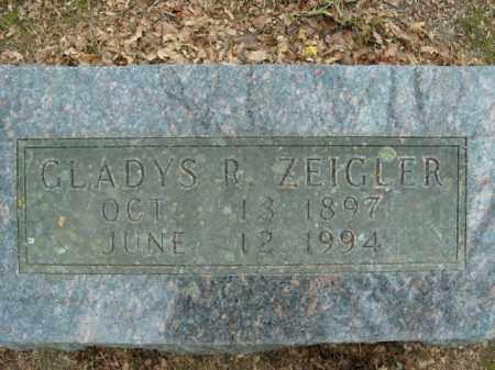 ZEIGLER, GLADYS R. - Boone County, Arkansas | GLADYS R. ZEIGLER - Arkansas Gravestone Photos