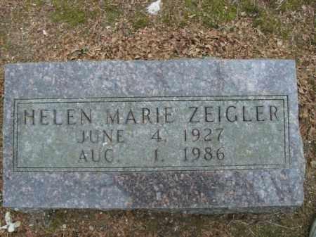 ZEIGLER, HELEN MARIE - Boone County, Arkansas | HELEN MARIE ZEIGLER - Arkansas Gravestone Photos