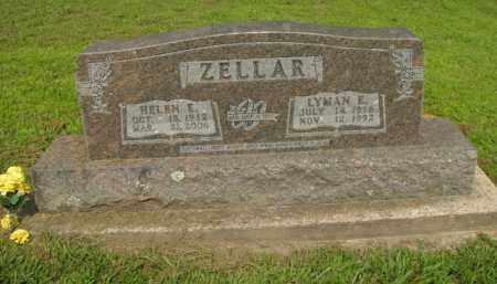 ZELLAR, LYMAN E. - Boone County, Arkansas | LYMAN E. ZELLAR - Arkansas Gravestone Photos