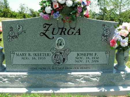ZURGA, JOSEPH F. - Boone County, Arkansas | JOSEPH F. ZURGA - Arkansas Gravestone Photos