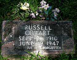 COWART, RUSSELL - Boone County, Arkansas | RUSSELL COWART - Arkansas Gravestone Photos
