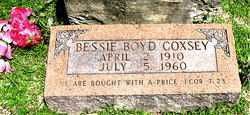 COXSEY, BESSIE - Boone County, Arkansas | BESSIE COXSEY - Arkansas Gravestone Photos