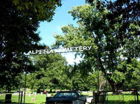 *ALPENA CEMETERY GATE,  - Boone County, Arkansas |  *ALPENA CEMETERY GATE - Arkansas Gravestone Photos