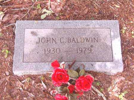 BALDWIN, JOHN C - Bradley County, Arkansas | JOHN C BALDWIN - Arkansas Gravestone Photos