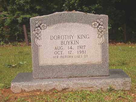KING BOYKIN, DOROTHY - Bradley County, Arkansas | DOROTHY KING BOYKIN - Arkansas Gravestone Photos
