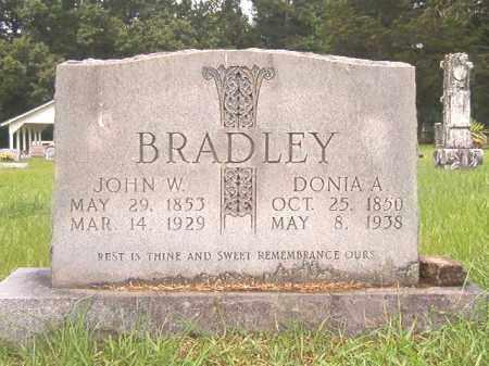 BRADLEY, JOHN W - Bradley County, Arkansas | JOHN W BRADLEY - Arkansas Gravestone Photos
