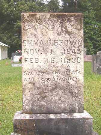 BROWN, EMMA L - Bradley County, Arkansas | EMMA L BROWN - Arkansas Gravestone Photos