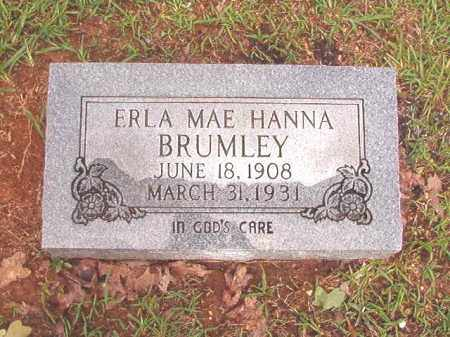 BRUMLEY, ERLA MAE - Bradley County, Arkansas | ERLA MAE BRUMLEY - Arkansas Gravestone Photos