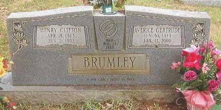 BRUMLEY, HENRY CLIFTON - Bradley County, Arkansas | HENRY CLIFTON BRUMLEY - Arkansas Gravestone Photos