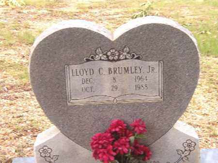 BRUMLEY, JR, LLOYD C - Bradley County, Arkansas | LLOYD C BRUMLEY, JR - Arkansas Gravestone Photos