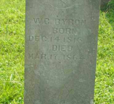 BYROM, W.C. - Bradley County, Arkansas | W.C. BYROM - Arkansas Gravestone Photos