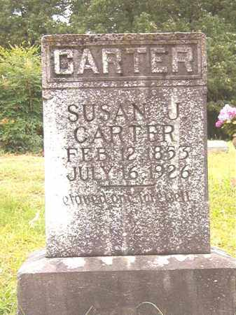 CARTER, SUSAN J - Bradley County, Arkansas | SUSAN J CARTER - Arkansas Gravestone Photos