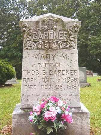 GARDNER, MARY M - Bradley County, Arkansas | MARY M GARDNER - Arkansas Gravestone Photos