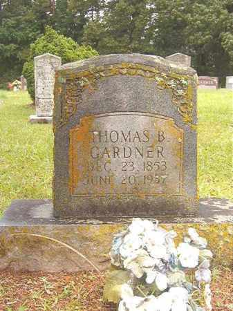 GARDNER, THOMAS B - Bradley County, Arkansas | THOMAS B GARDNER - Arkansas Gravestone Photos