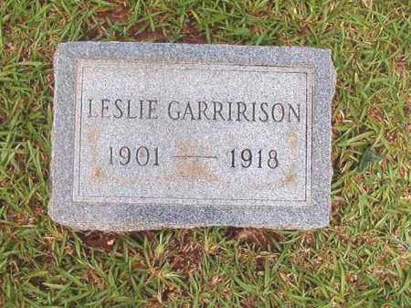 GARRIRISON, LESLIE - Bradley County, Arkansas | LESLIE GARRIRISON - Arkansas Gravestone Photos