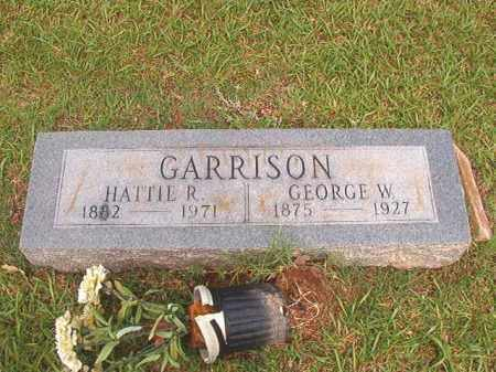 GARRISON, GEORGE W - Bradley County, Arkansas | GEORGE W GARRISON - Arkansas Gravestone Photos