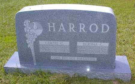 HARROD, BERTHA G. - Bradley County, Arkansas | BERTHA G. HARROD - Arkansas Gravestone Photos