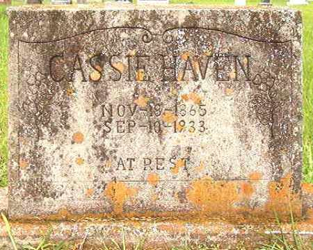 HAVEN, CASSIE - Bradley County, Arkansas | CASSIE HAVEN - Arkansas Gravestone Photos