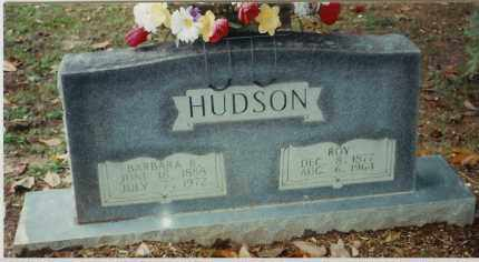 HUDSON, BARBARA BIANTHA - Bradley County, Arkansas | BARBARA BIANTHA HUDSON - Arkansas Gravestone Photos