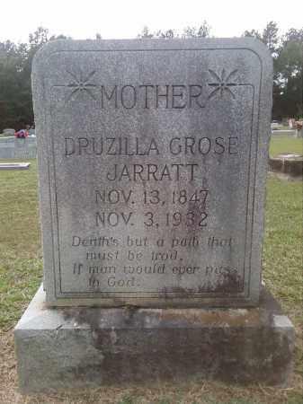 JARRATT, DRUZILLA F. GROSE MCKINNEY - Bradley County, Arkansas | DRUZILLA F. GROSE MCKINNEY JARRATT - Arkansas Gravestone Photos