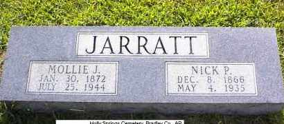 "JOHNSON JARRATT, MARY EMMA ""MOLLY"" - Bradley County, Arkansas 