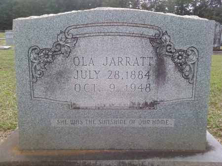 JARRATT, OLA - Bradley County, Arkansas | OLA JARRATT - Arkansas Gravestone Photos