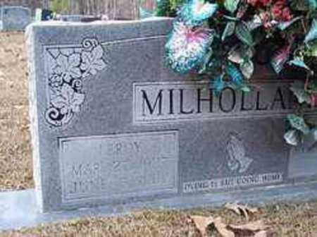 MILHOLLAND, LEROY - Bradley County, Arkansas | LEROY MILHOLLAND - Arkansas Gravestone Photos
