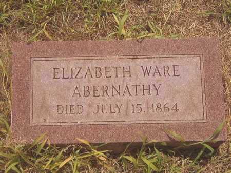 WARE ABERNATHY, ELIZABETH CAROLINE - Calhoun County, Arkansas | ELIZABETH CAROLINE WARE ABERNATHY - Arkansas Gravestone Photos