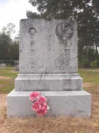 ABERNATHY, JULIAN R - Calhoun County, Arkansas   JULIAN R ABERNATHY - Arkansas Gravestone Photos